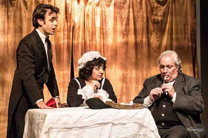 Limones de Sicilia, Cecé, de Luigi Pirandello, dirección Federico Tombetti, música original Mirko Mescia