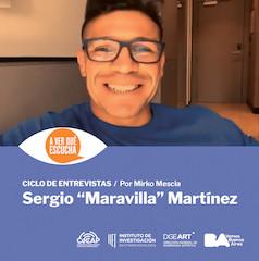 """A ver qué escucha Sergio """"Maravilla"""" Martínez"""