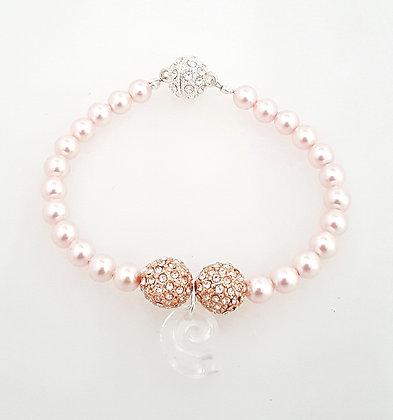 Rose Sea snail bracelet
