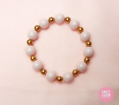 Cotton Candy Pink Stretch bracelet