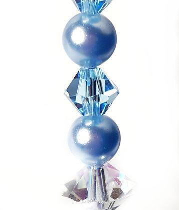 Sparkle in Blue Swarovski©  earrings