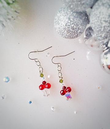 Swarovski Gift box earrings--DIFFERENT DESIGN