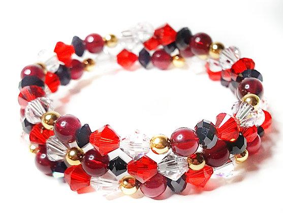 Harlequinn Wrap Bracelet
