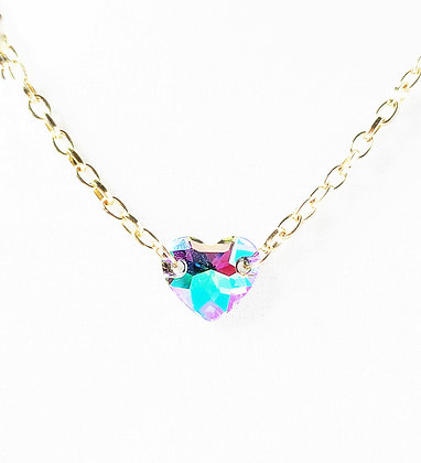 Brilliant Star Heart Necklace