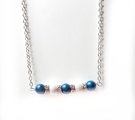 Midnight stardust necklace
