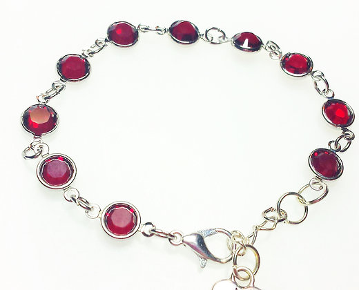 Made with Love Red Swarovski bracelet