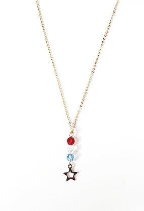 RWB Starry Drop Necklace