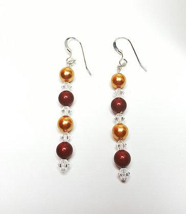 Baroque inspired Swarovski© Earrings