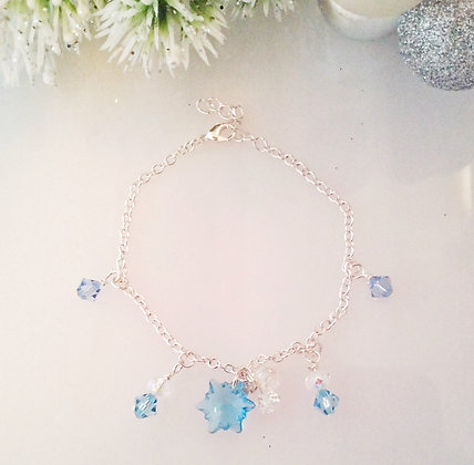 Blue Hue Edelweiss Bracelet SWB001