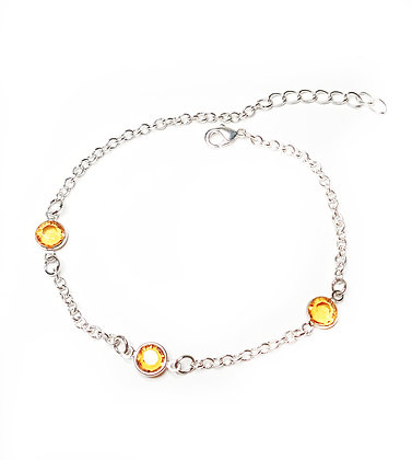 Sunshine chain bracelet