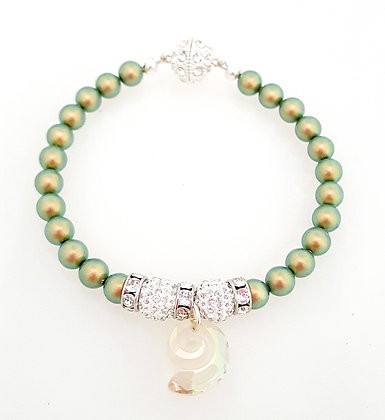 Sea of Green bracelet