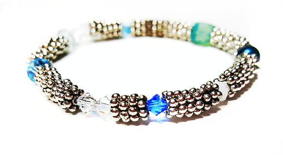 Antique Blue Frost bracelet