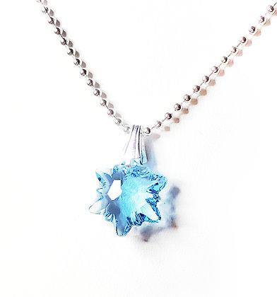 Blue Elsa Necklace