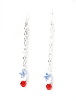 RWB Drop Star Earrings