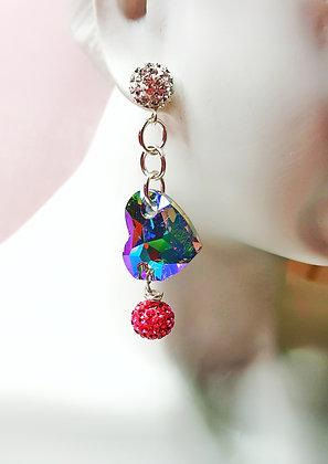 Heart Passion drop earring