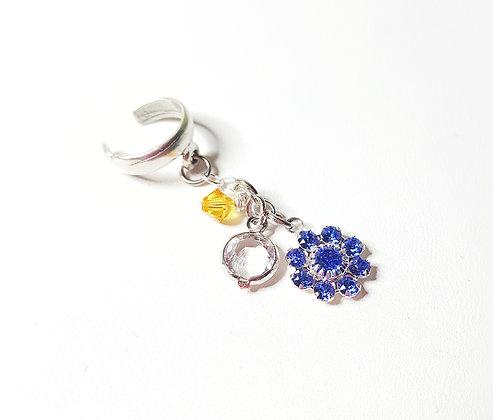 Winter princess ear cuff--NEW