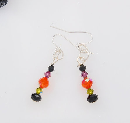 Swarovski Halloween Drop earring SWHD90216