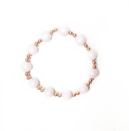 Soft Pink Pearl Bracelet