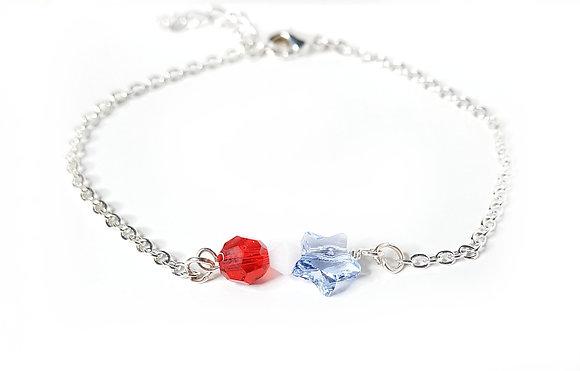 RWB Star Sparkle Bracelet