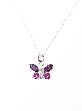 Garden Butterfly Necklace
