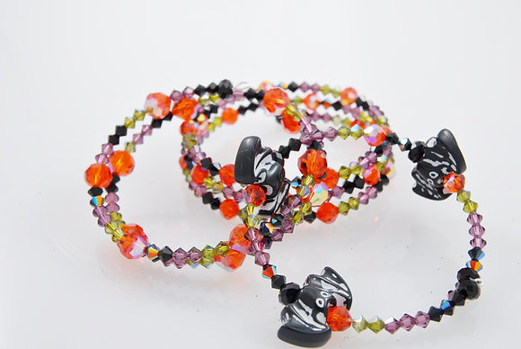 Swarovski Multi-layered wrap bracelets SWW1003