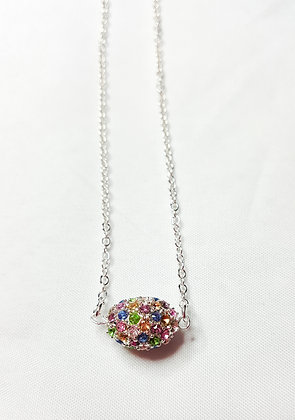 Pave Crystal Necklace PC002