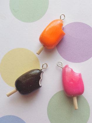 Chocolate, raspberry and orange cream charm