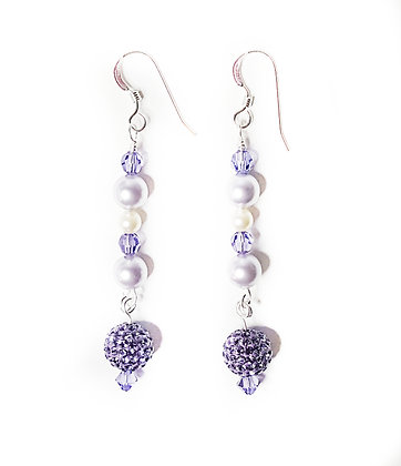 PASTEL DREAMS Tanzanite Dangle Earring