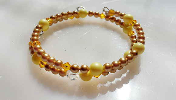 Sunshine Wrap Bracelet