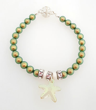 Light green Starfish Bracelet