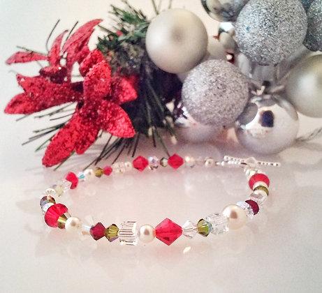 """Love of Christmas"" Swarovski bracelet LSW001"