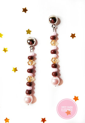 Strawberry and Chocolate earrings