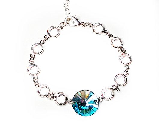 Blue Metallica Sparkle Bracelet