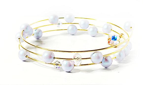 Dreamy Blue Wrap Bracelet
