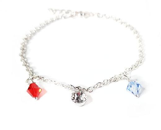 RWB Crystal Bracelet