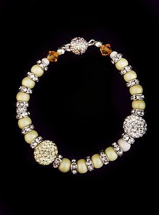 ROCK GLAMOUR COLLECTION-Sunshine Yellow bracelet