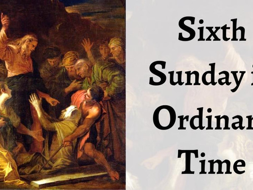 Click Here_Live Stream of 6th Sunday in Ordinary Time 2/14/21