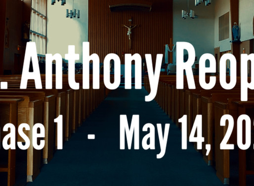 St. Anthony Reopening - Phase 1_May 14, 2020
