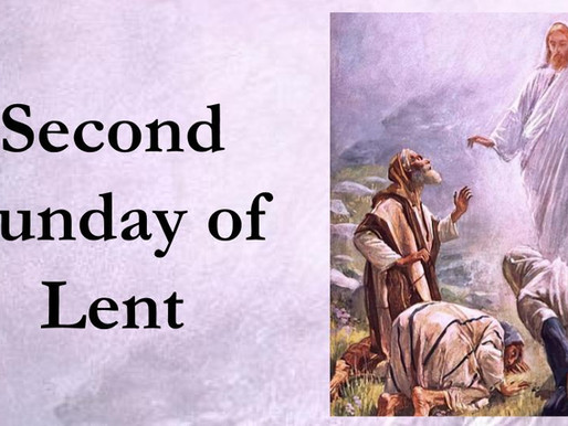 Second Sunday of Lent Live Stream, 2/27/21