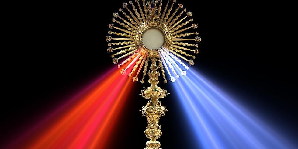 Bi-Lingual Holy Hour (English and Spanish) - Live Stream