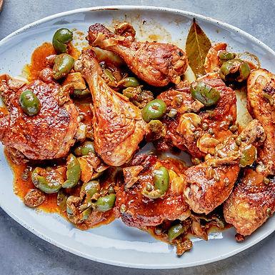 Saucy Chicken Puttanesca