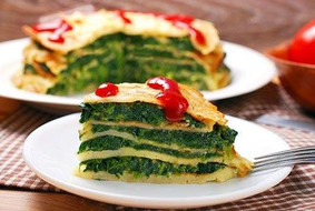 20Spinach & Goat Cheese Crepe Tarte