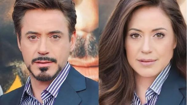 Face App Robert Downey Jr