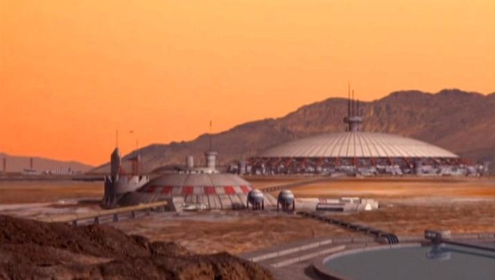 ¿Existen bases militares en Marte?