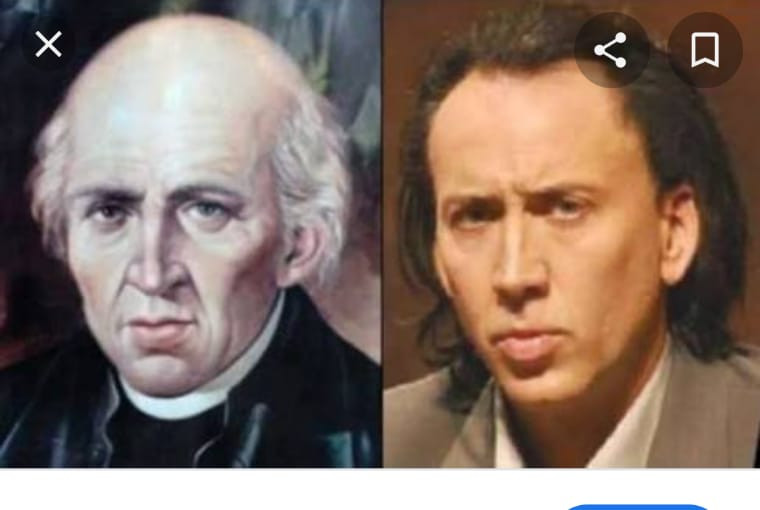 Nicolas Cage es en realidad Miguel Hidalgo