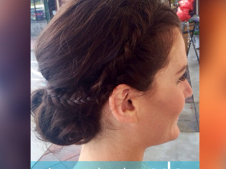 BRAIDED UPDO ALMOST ANYONE CAN DO...