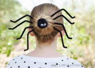 KIDS HALLOWEEN HAIR