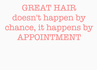 PREBOOK YOUR HOLIDAY APPOINTMENT!
