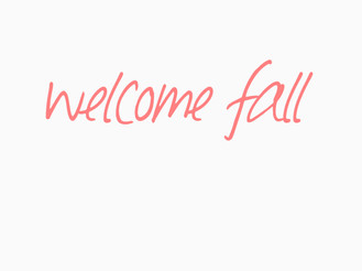 WHAT I'M OBSESSED WITH THIS WEEK - IT'S OFFICIALLY FALL!
