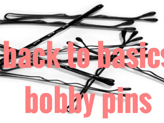 BACK TO BASICS - BOBBY PINS